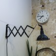 Black Extendable Wall Light