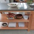 Kauri and Stainless Steel Kitchen